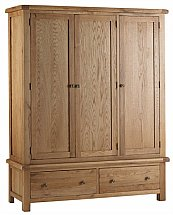 Vale Furnishers - Dorking Triple Wardrobe